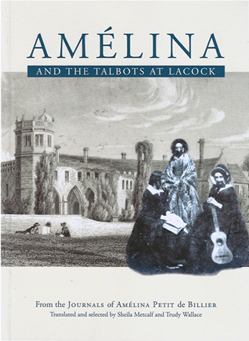 Amelina book cover
